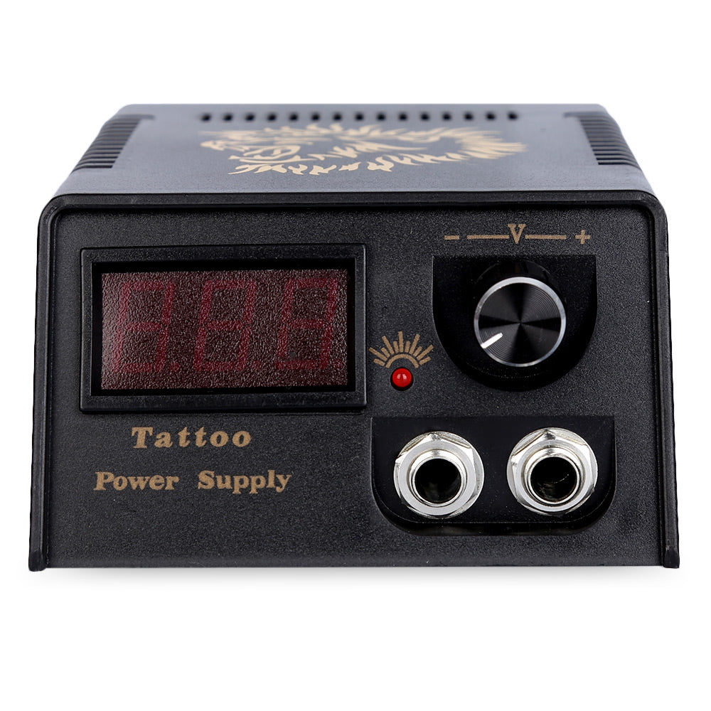 Complete Tattoo Kit 2 Rotary Motor Liner Gun Power Supply System