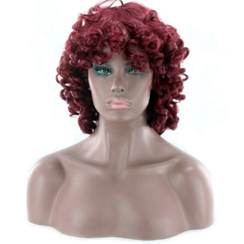 Female Fashionable Short Curly Artificial Hair Synthetic Wig