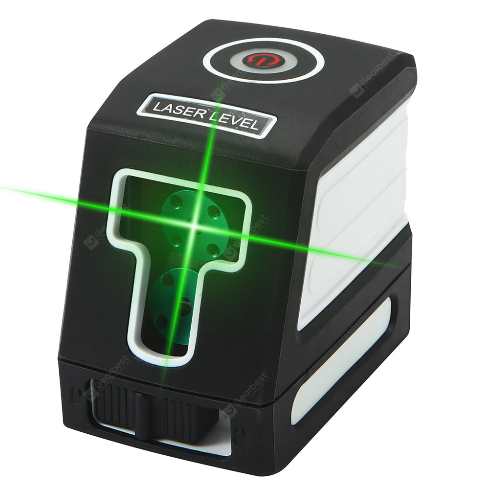 Gocomma Mini Self-leveling Cross Line Spirit Level