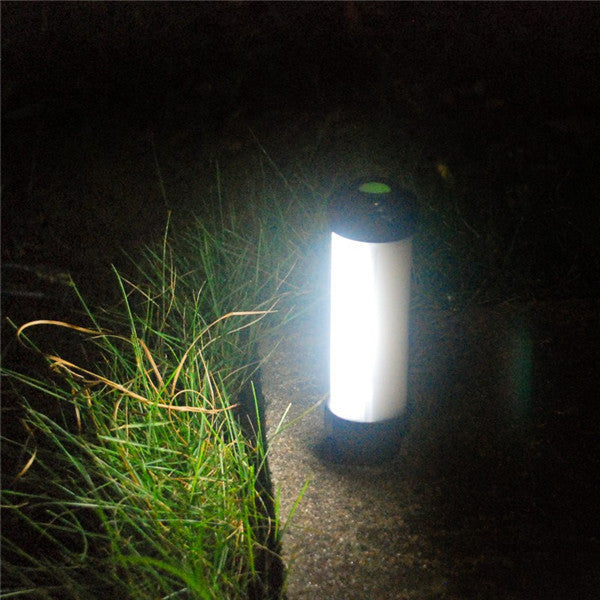 USB Rechargeable Emergency Outdoor Lantern IP68 Waterproof Portable LED Camping Light with 5 Modes