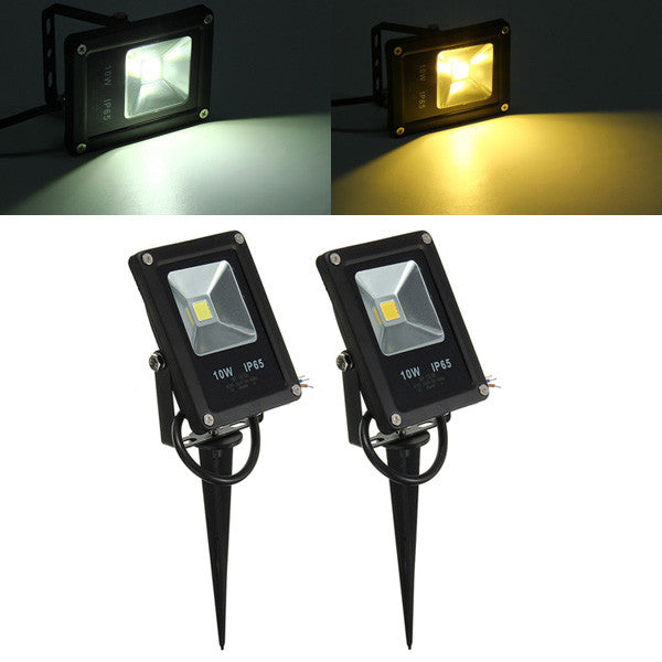 10W Waterproof IP65 White/Warm White LED Flood Light Outdoor Garden Security Lamp