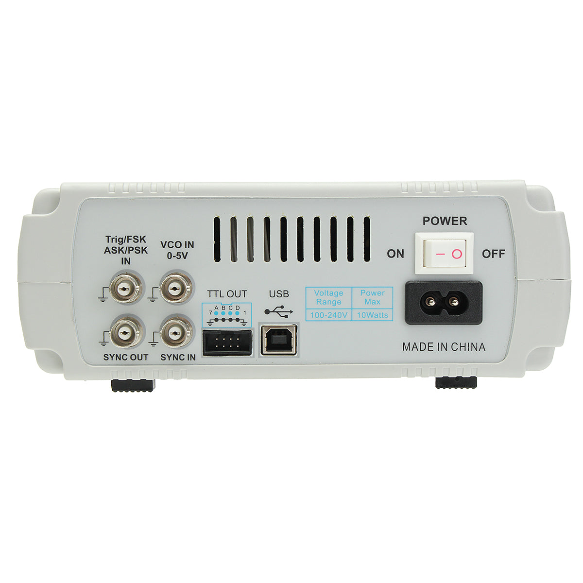FY6600 Digital 12-60MHz Dual Channel DDS Function Arbitrary Waveform Signal Generator Frequency Meter