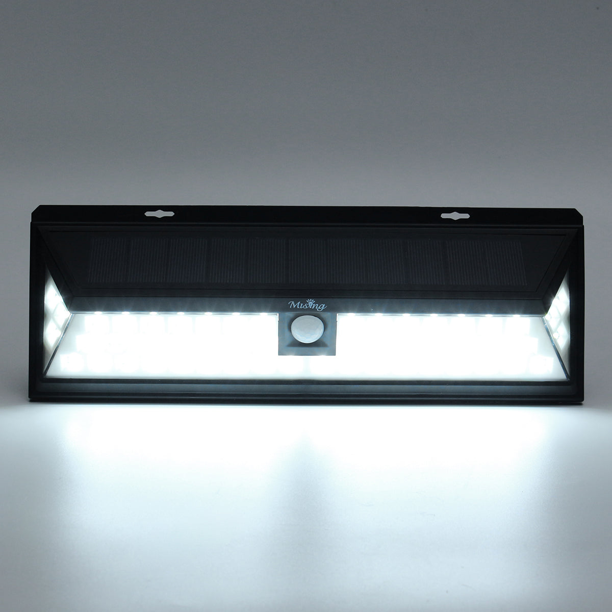 Outdoor Garden Solar Lights 6W PIR Motion Sensor 54 LED Waterproof Pathway Wall Lamp