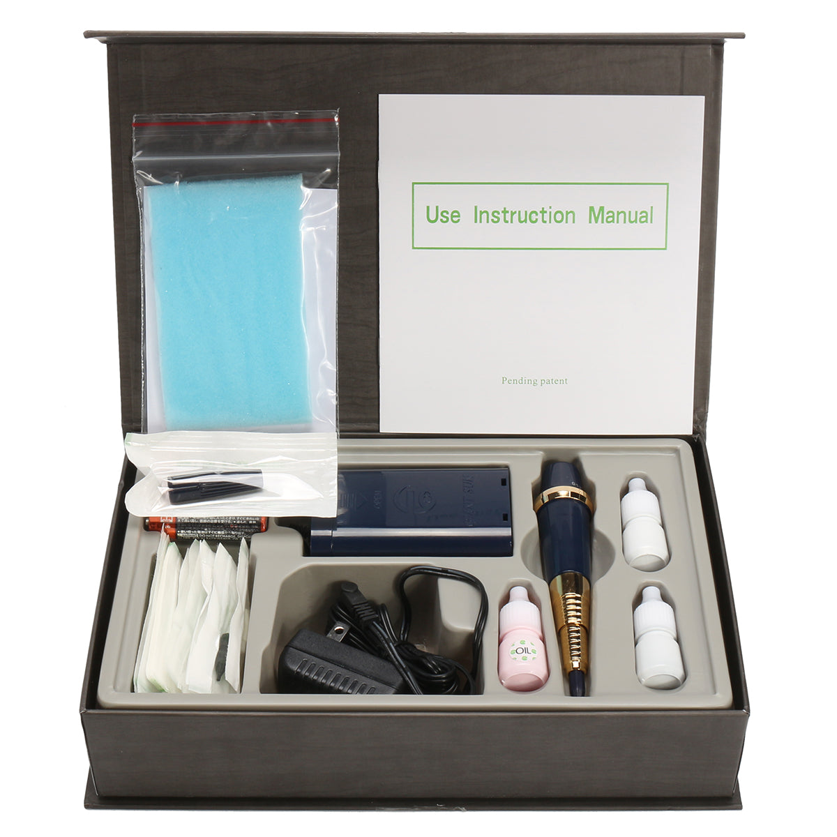 Durable Professional Eyebrow Tattoo Machine Kit Permanent Make Up Set For Practicing