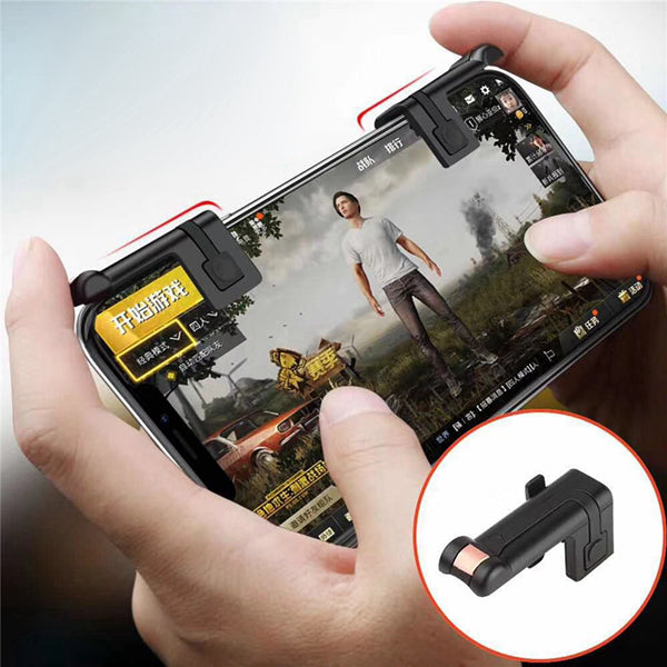 Bakeey Game Trigger Fire Button Joysticks Gamepad Game Controller Assist Tools 2PCS For Mobile Phone