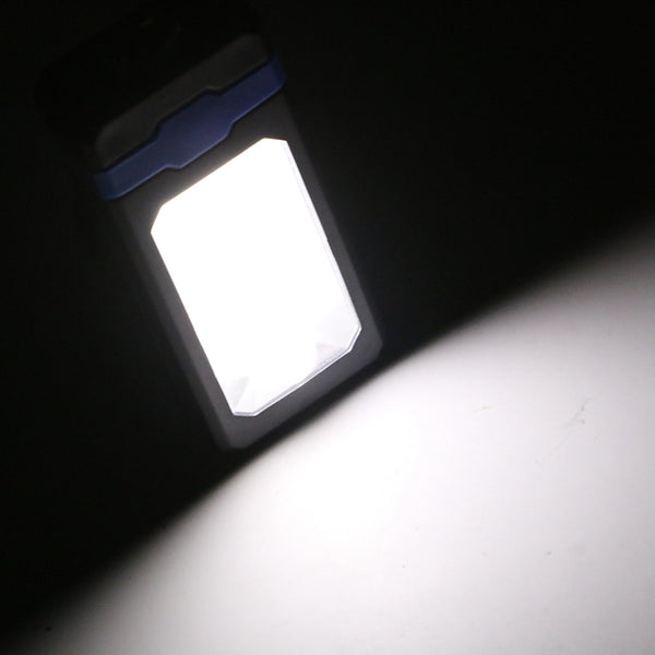 5W Portable COB Solar Work Light USB Rechargeable Outdoor Magnetic Camping Lantern Hanging Torch
