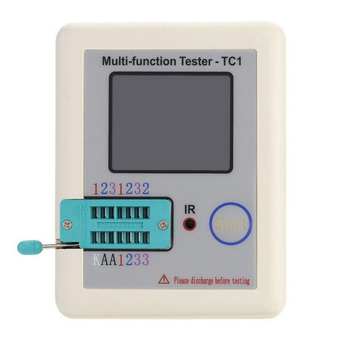 DANIU™ LCR-TC1  1.8inch Colorful Display Multifunctional TFT Backlight Transistor Tester for Diode Triode Capacitor Resistor Transistor LCR ESR NPN PNP MOSFET