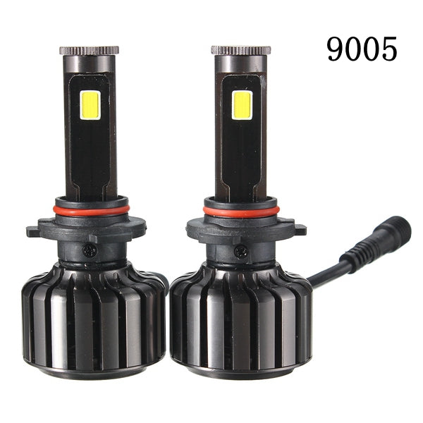 Pair 60W 5200LM White H4 H7 H11/H8 9005 9006 LED Hi/Lo Beam Headlight Kit
