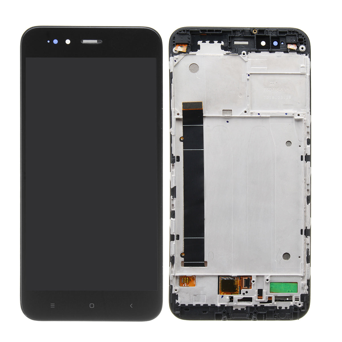 LCD Display + Touch Screen Digitizer Replacement+Frame With Frame For Xiaomi Mi 5X / Mi A1