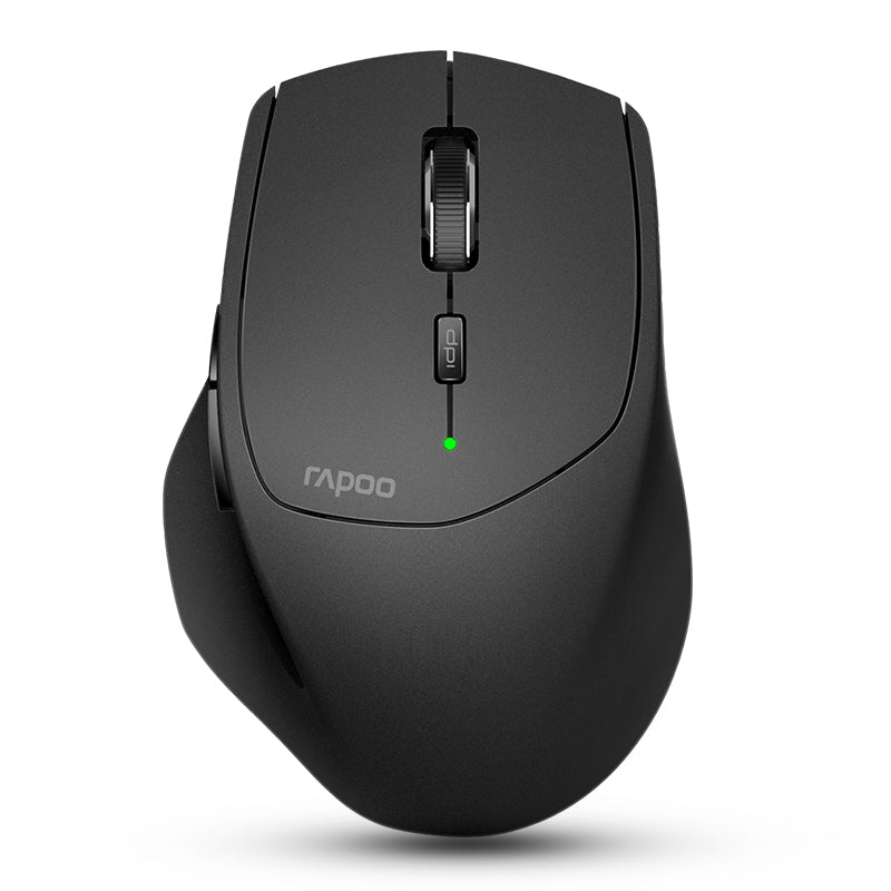 Rapoo MT550 Multi-mode Wireless 2.4G Bluetooth 3.0/4.0 Mouse 1600dpi Smart Switch Between 4 Devices