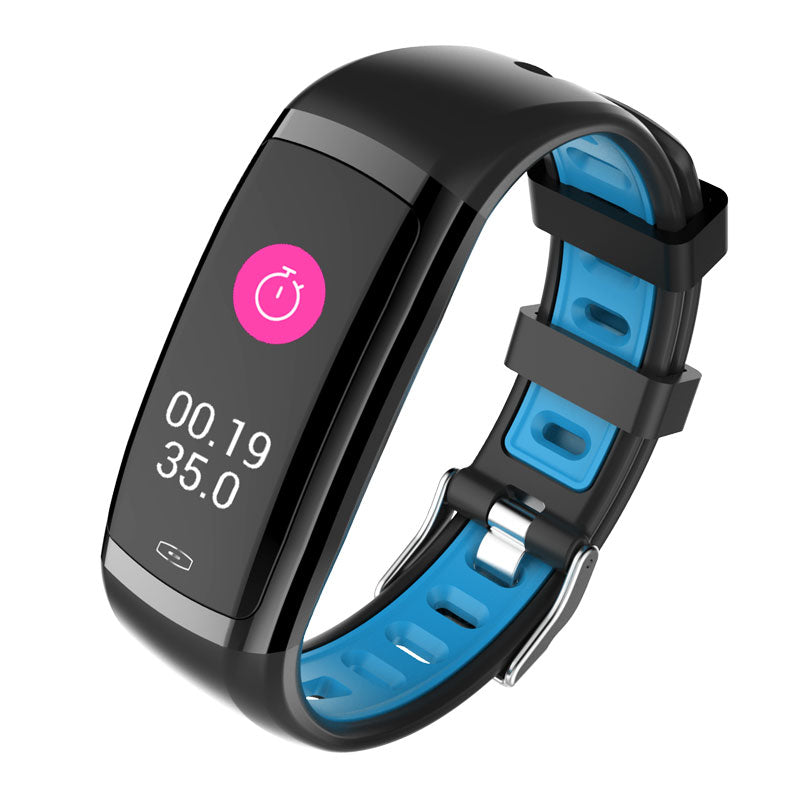 Fitness Tracker Heart Rate Sleep Monitor Fitness Tracker Smart Watch for  iOS Android - Blue