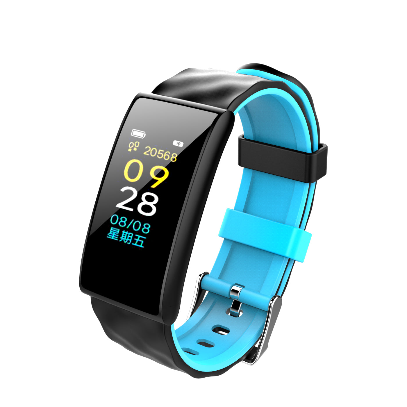 Fitness Tracker Heart Rate Monitor Blood Pressure Oxygen Fitness Tracker Smart Bracelet