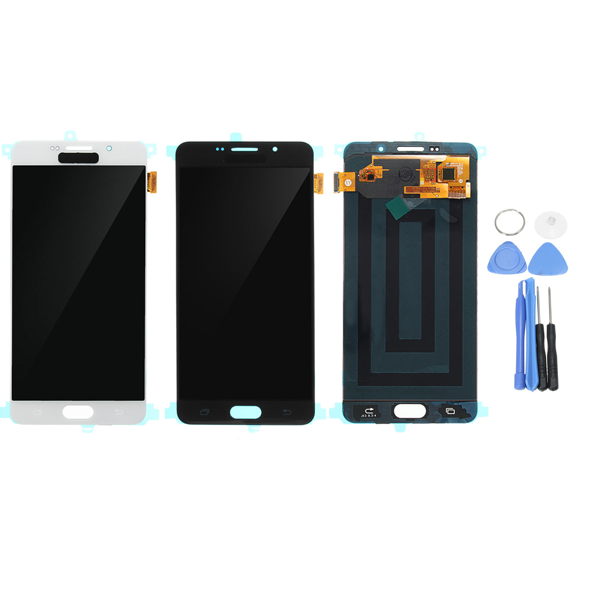 Full Assembly LCD Display+LCD Touch Screen Digitizer Replacement With Repair Tools For Samsung Galaxy A7 2016
