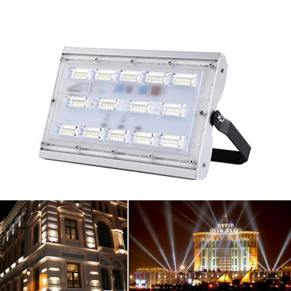 30W 50W 100W Super Bright LED Flood Light AC200-240V Waterproof  IP66 Anti-thunder Outdoor Garden
