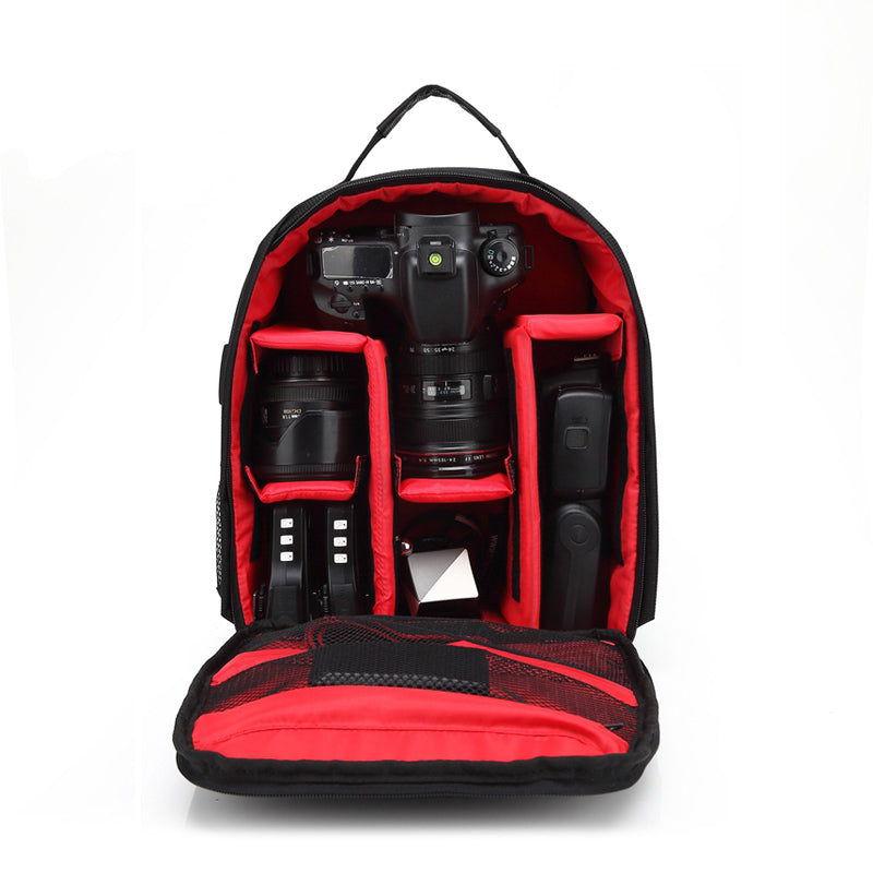 Waterproof Shockproof Camera Laptop Outdoor Travel Storage Bag Backpack