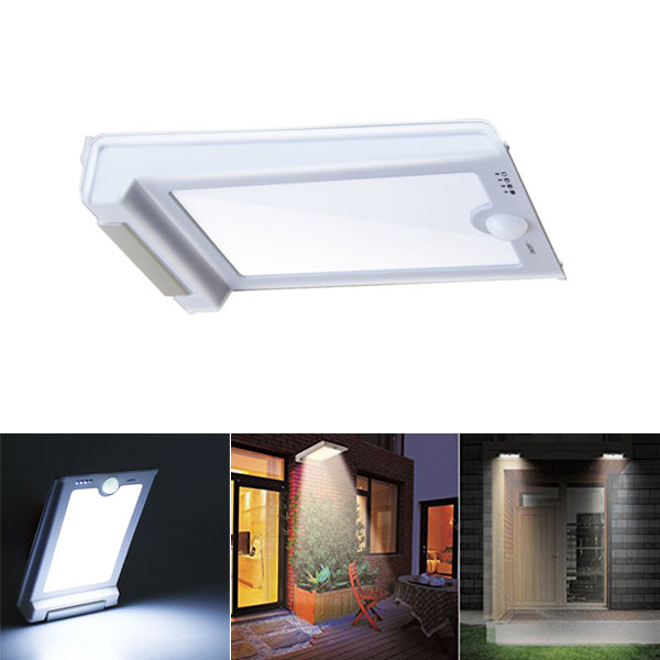 Solar Powered 46 LED Outdoor PIR Motion Sensor Light Waterproof Security Wall Lamp for Street Path