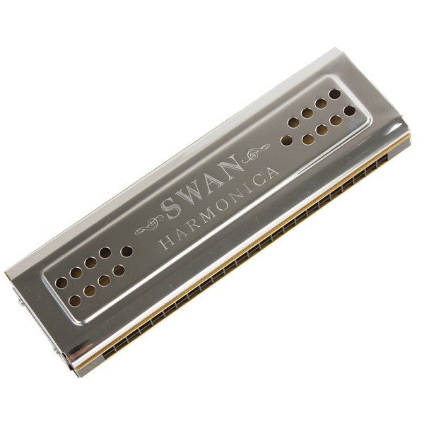 Swan SW24-12 24 Holes Double Sided Key C G Harmonica