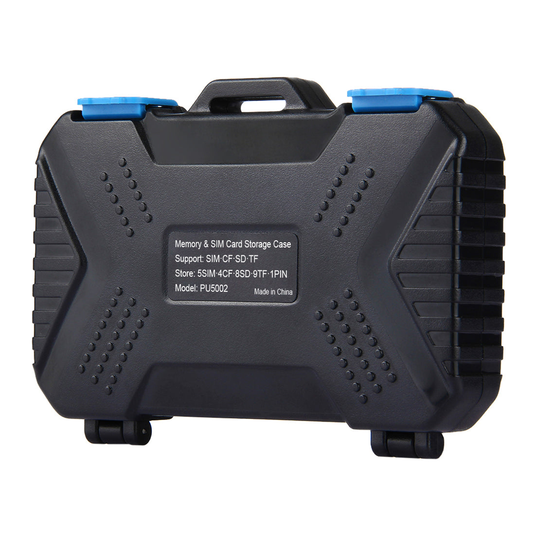 PULUZ PU5002 27 in 1 Waterproof Camera Memory Card Case for CF SD TF Card PIN SIM Micro-SIM Nano-SIM