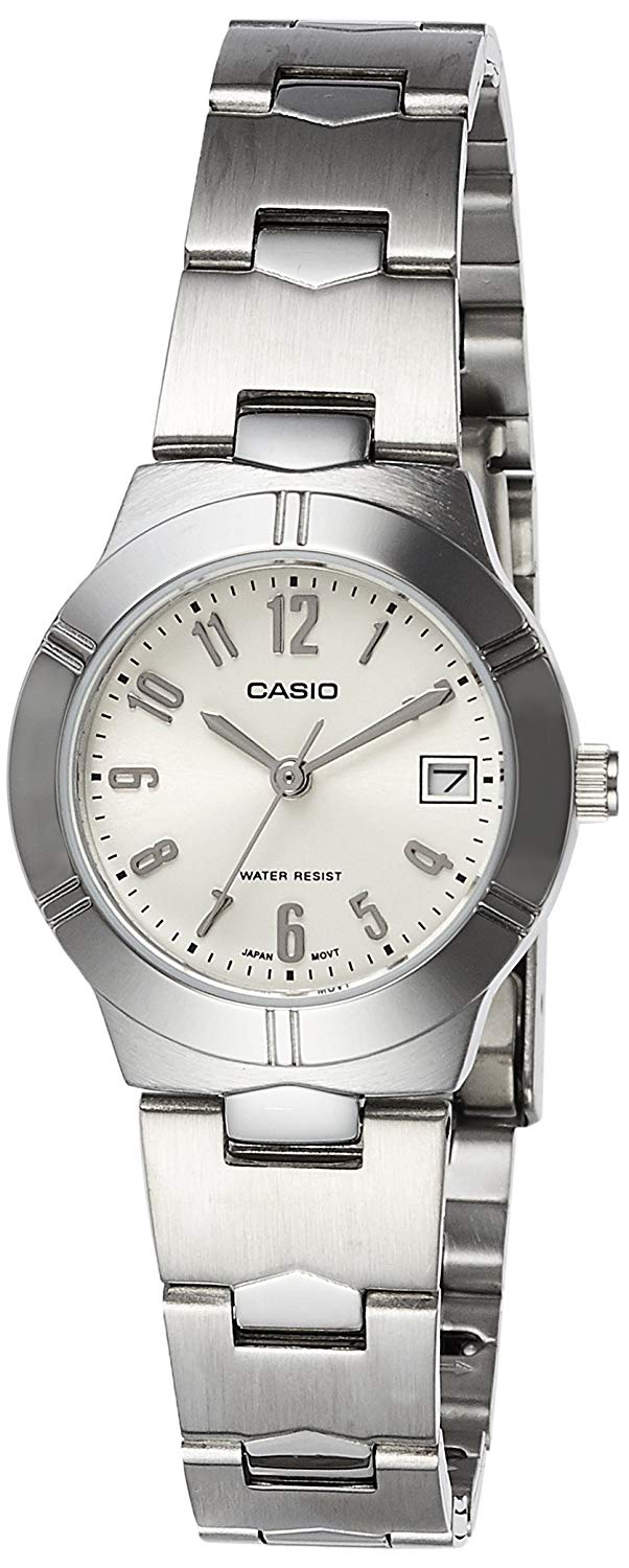 Casio Women's Standard Analog Watch with Date #LTP-1241D-7A2