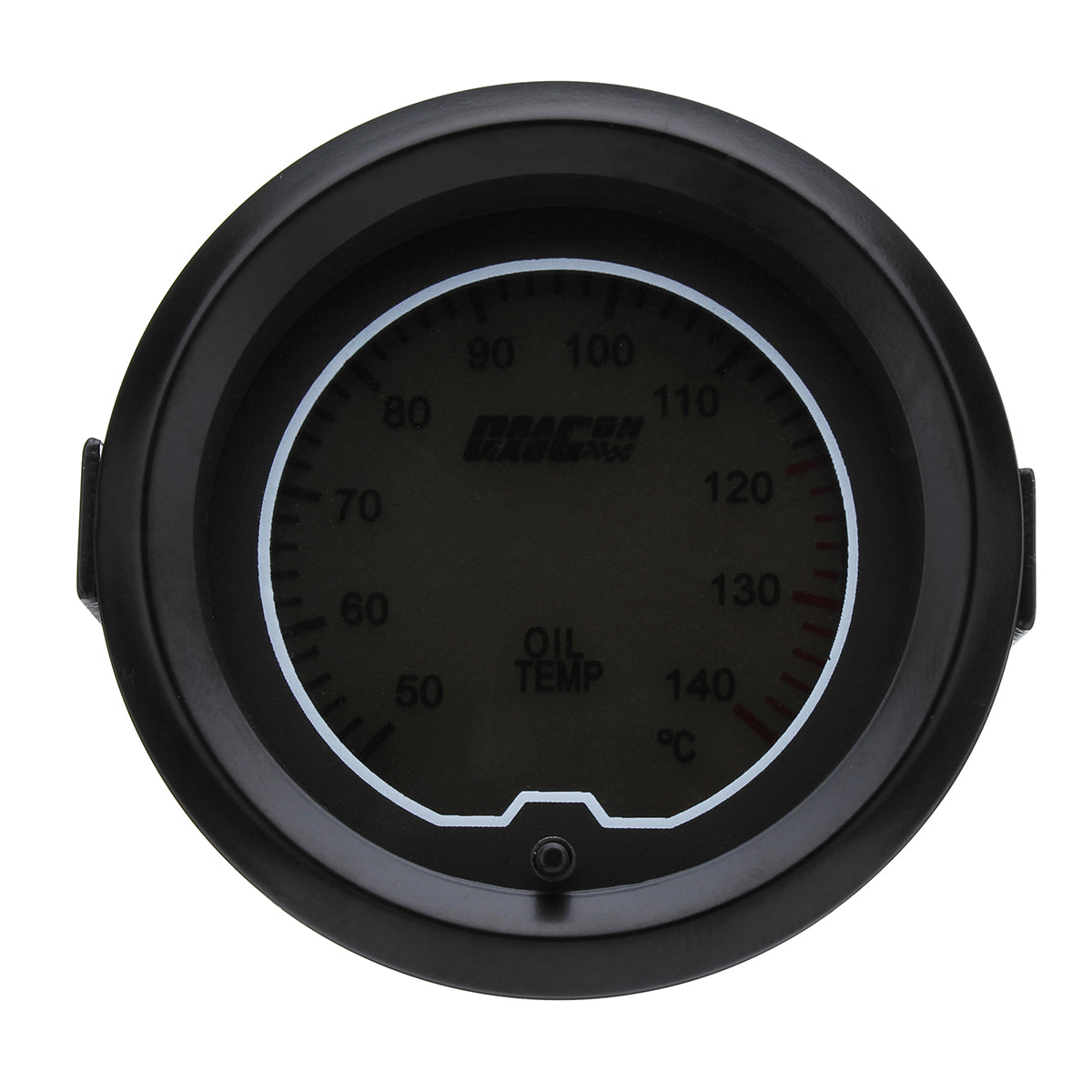 52mm Car Oil Temp Temperature Gauge Digital 7 color LED Display Car Meter