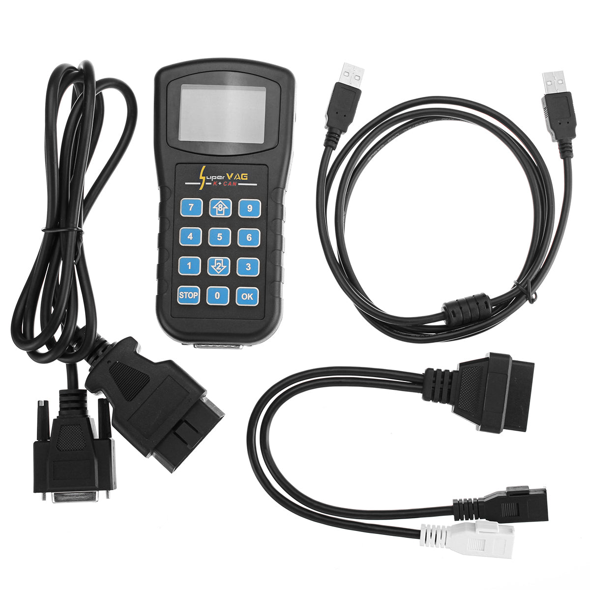 Super VAG K CAN Car Diagnostic Scanner Car Code Reader for VW/Audi/Skoda OBD V4.8