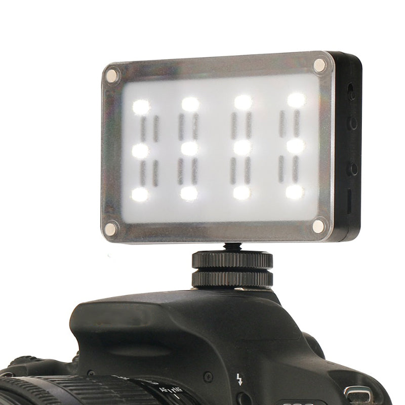 LED Portable Video Light with Cold Shoe