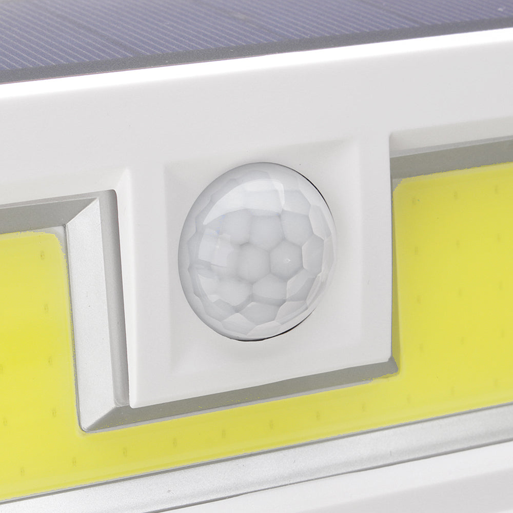 ARILUX® 16W Solar Power 99 COB LED Waterproof PIR Motion Sensor Light Outdoor Wide Angle Wall Lamp