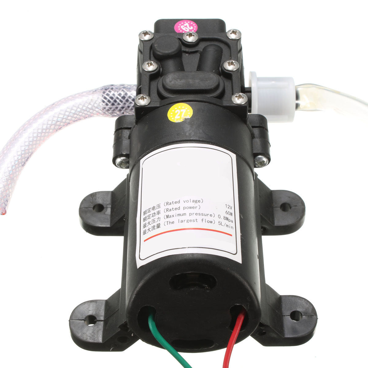 12V DC Oil Fluid Scavenge Suction Vacuum Transfer Pump Extractor
