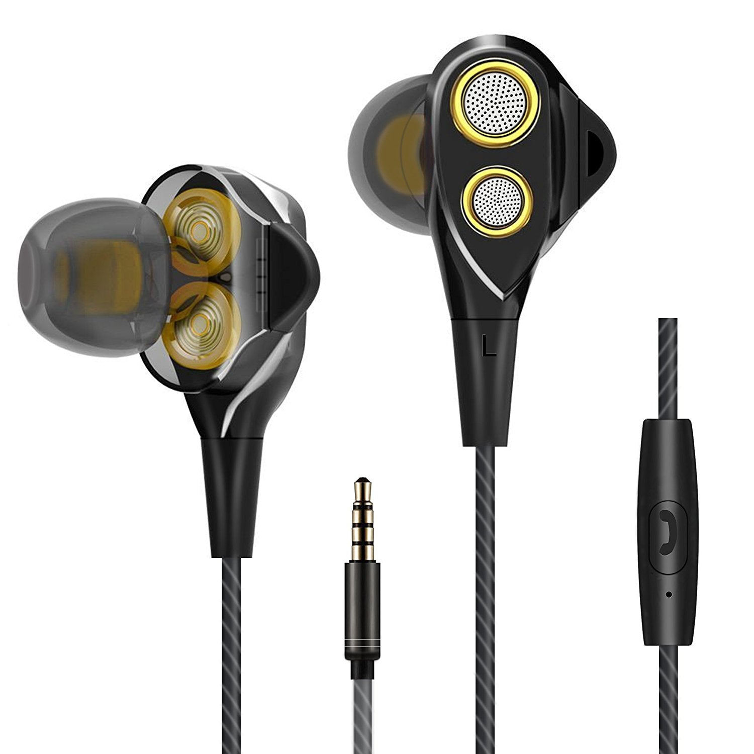 Ailun in-Ear Headphones,Wired Stereo