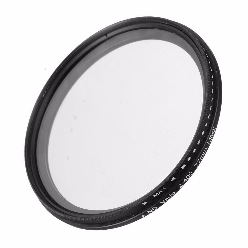 ND2 to ND400 52mm 55mm 58mm 62mm 67mm 77mm Lens Filter For Canon Nikon