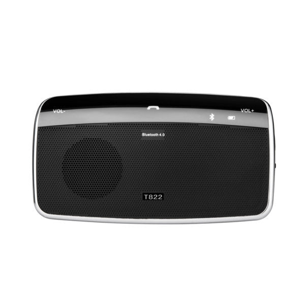 T822 Bluetooth Hands-free Car Kits Sun Visor Speaker Phone Music Audio Stereo Receiver