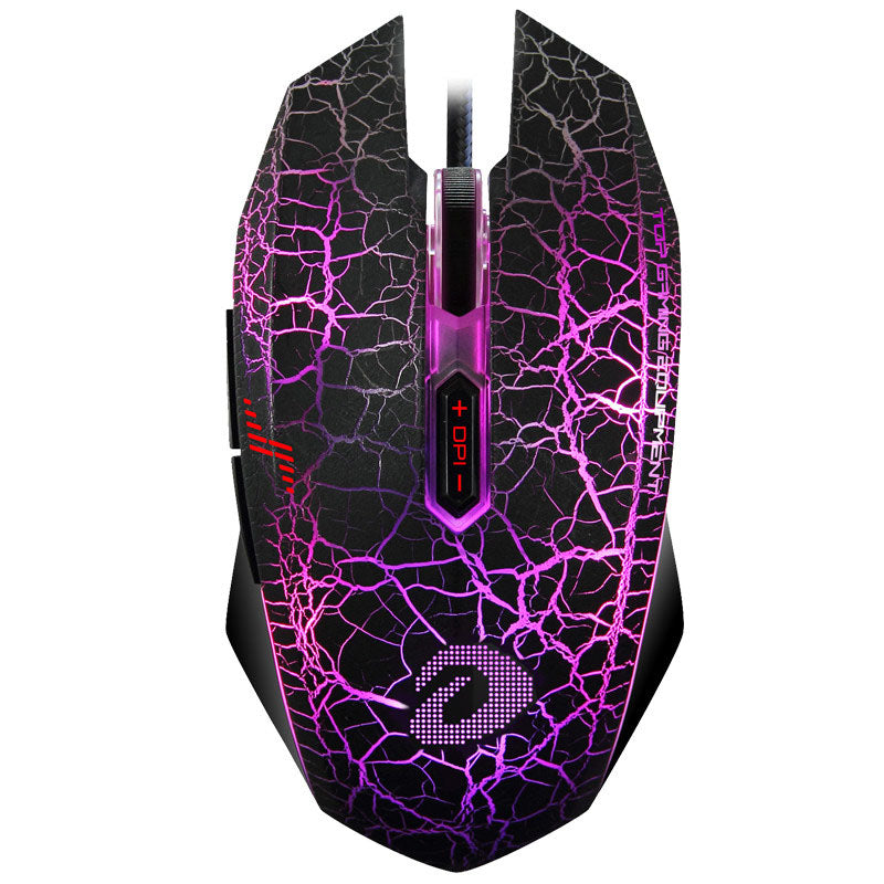 Dareu EM915 Professional 4000 DPI Optical Gaming Mouse 7 Button LED Backlight for Computer LOL PC