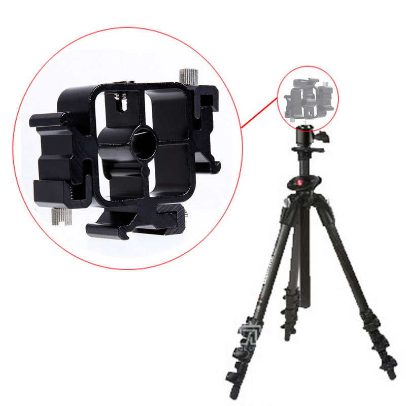 Hot ShoE Mount Adapter Flashlight Stand Umbrella Holder Bracket for Canon Nikon Pentax
