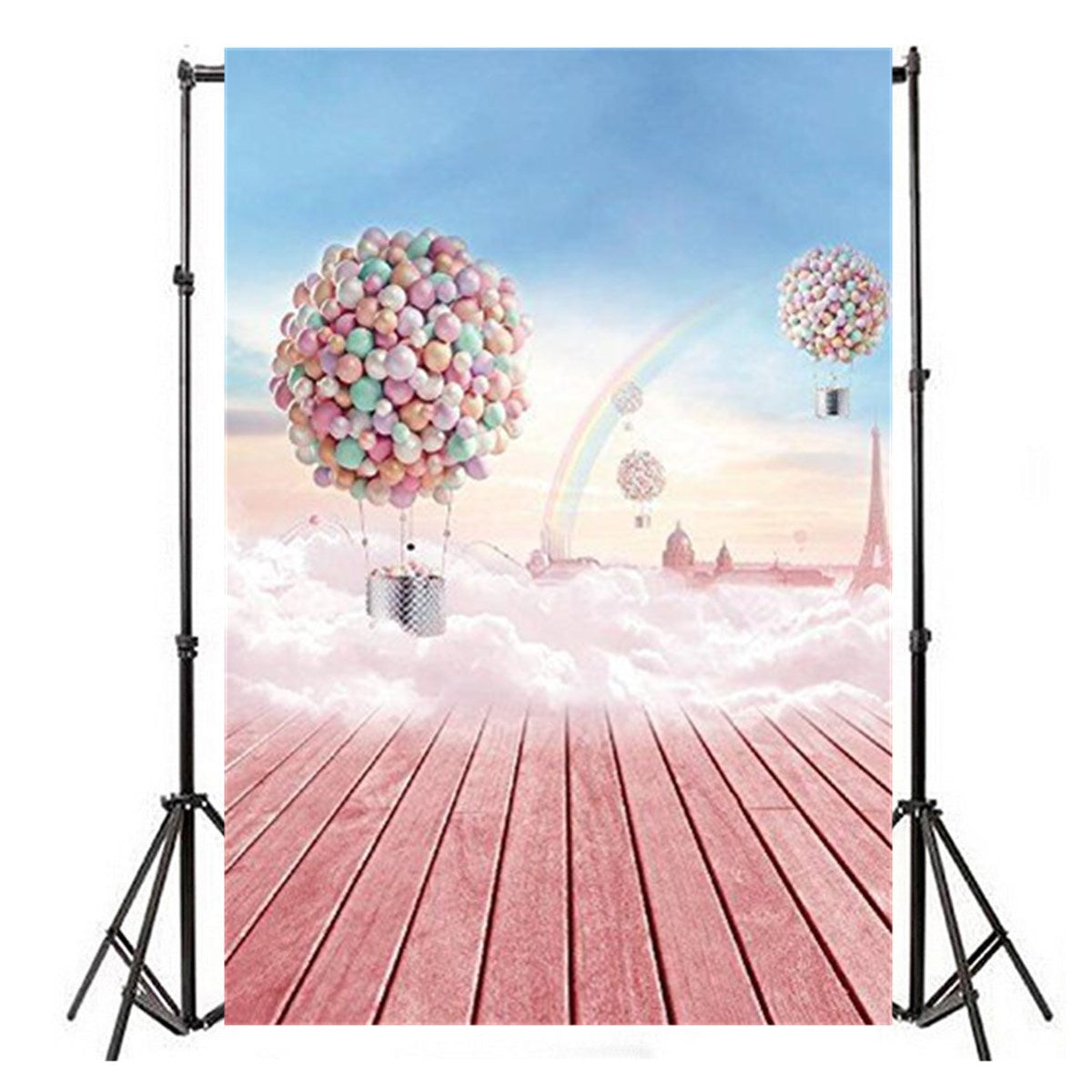Backdrop Hot-air Photography Vinyl Backdrop Studio Background 2.1m x 1.5m