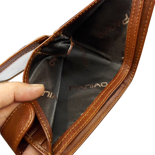 Men Genuine Leather Vintage Multi-card Slots Wallet Card Holder