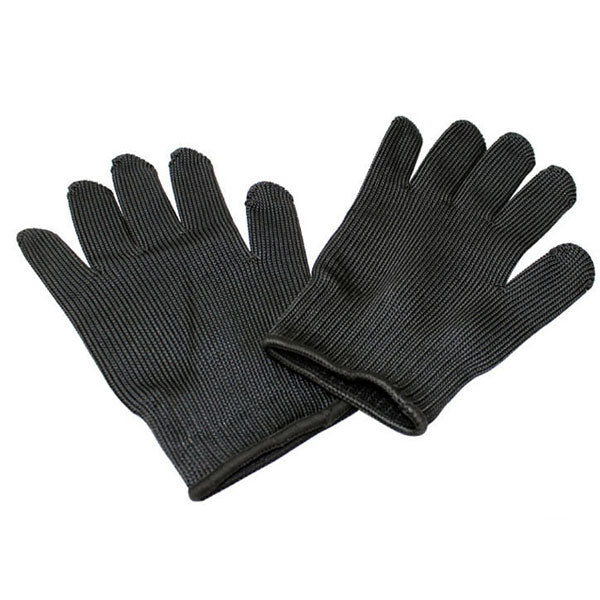 A Pair Steel Wire Safety Anti-cutting Gloves Gardening Work Outdoor Arm Sleeves Protection Tool