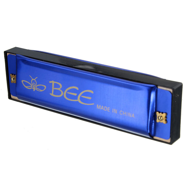 BEE 10 Holes 40 Tone C Key Harmonica Mouth Organ Musical Instrument Gift Toy