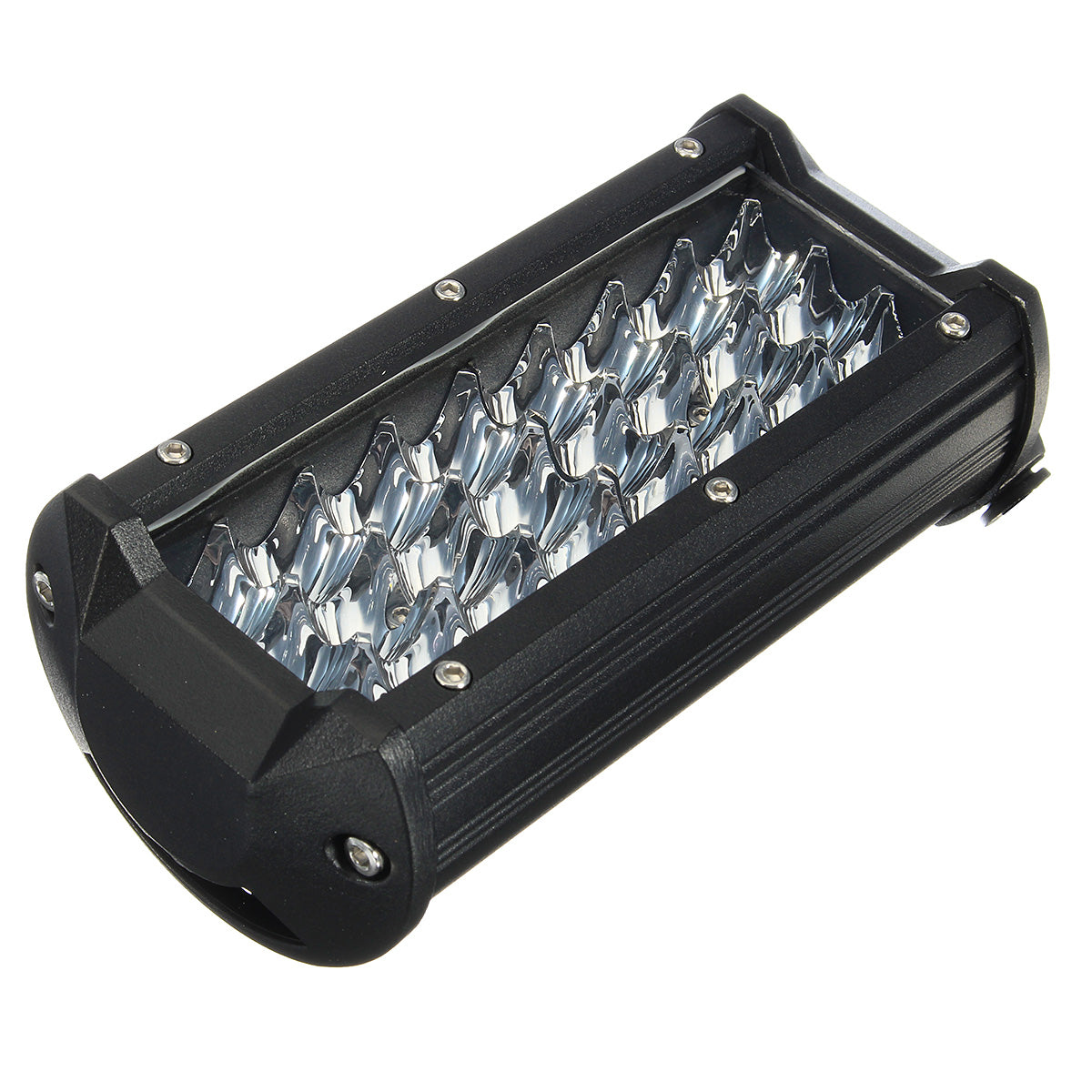 Car 72W 24 Dual Row Spot LED Light Bar for Off-road Trucks Motorcycles Automobiles
