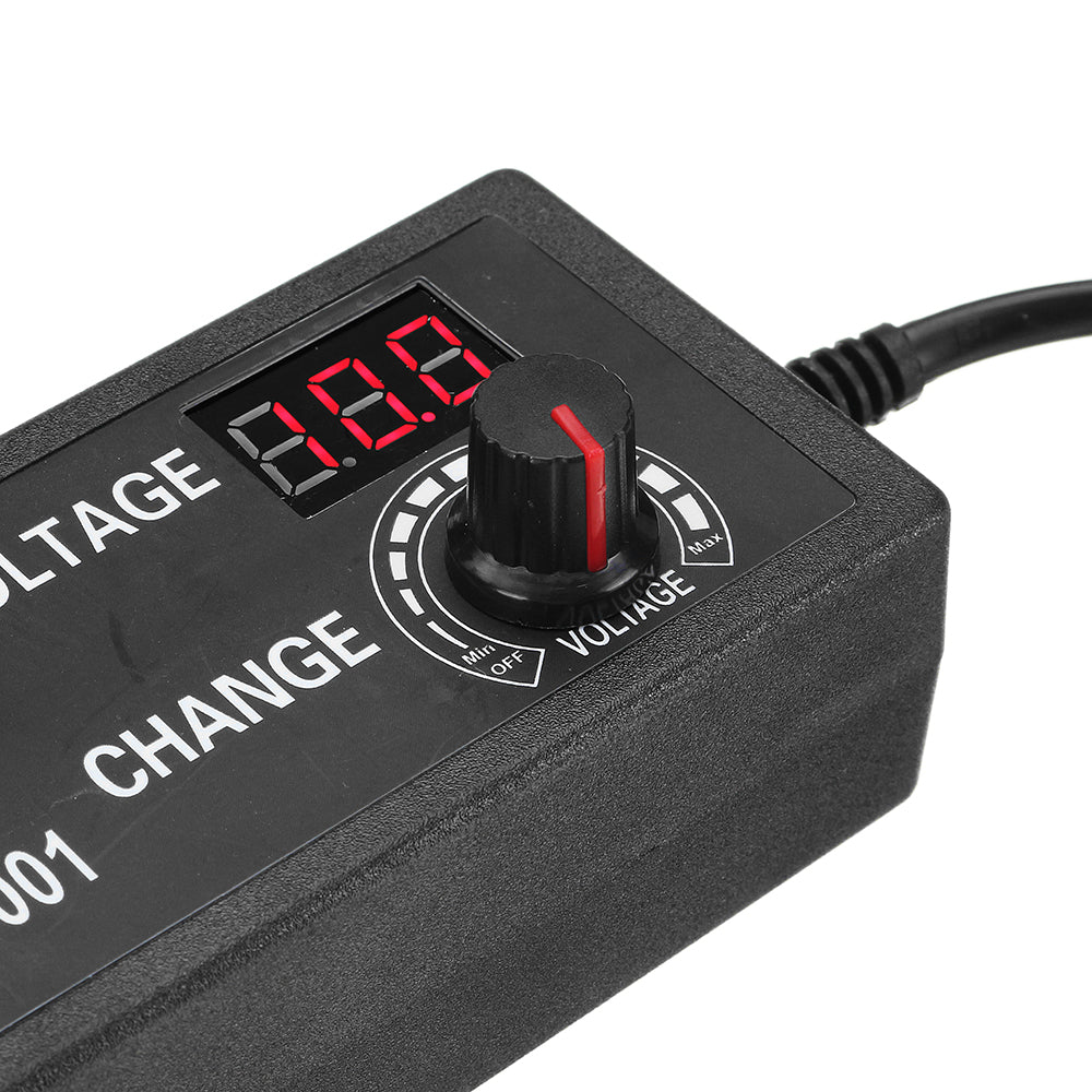 Excellway® 9-24V 3A 72W AC/DC Adapter Switching Power Supply Adjustable Power Adapter Supply Display US Plug