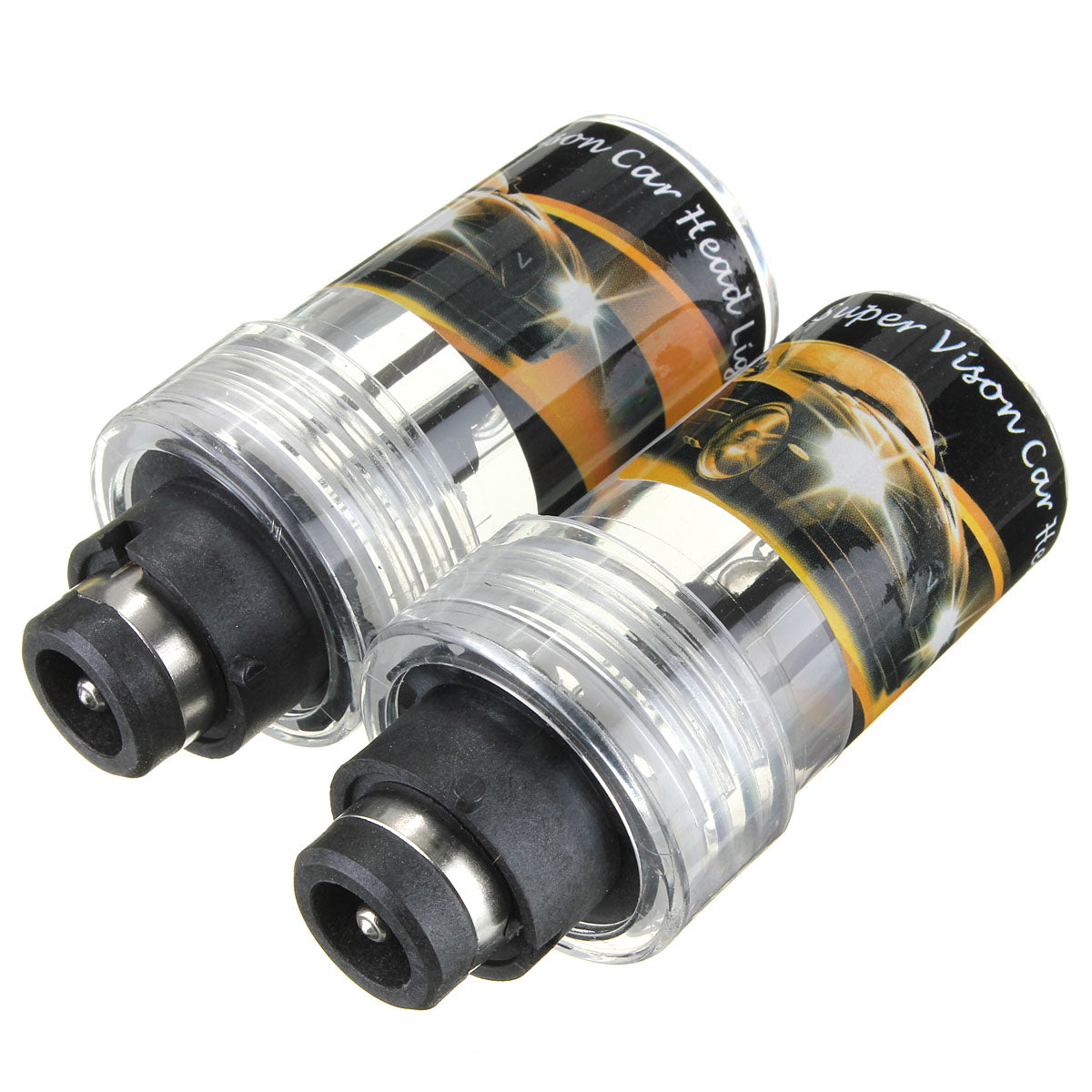 Pair 35W Car D2R HID Xenon Headlights Lamp Bulbs 4300K/5000K/6000K/8000K/12000K DC 12V