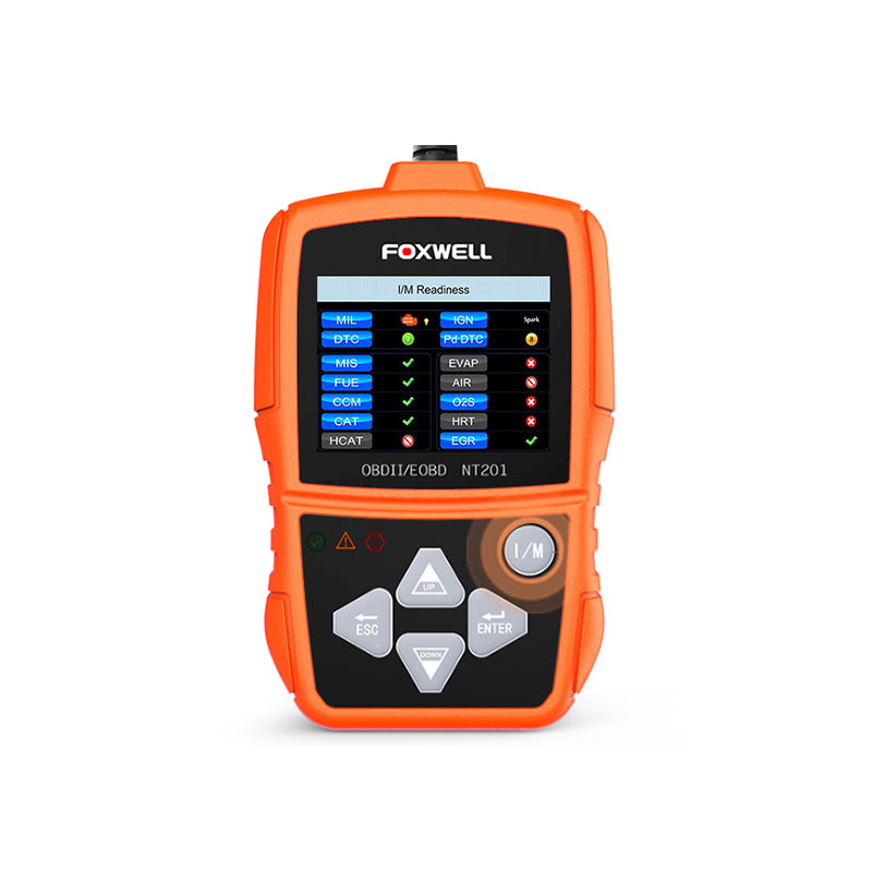 Foxwell NT201 OBD2 Auto Scanner Automotive Car Engine Fault Code Reader Diagnostic Tool Analyzer