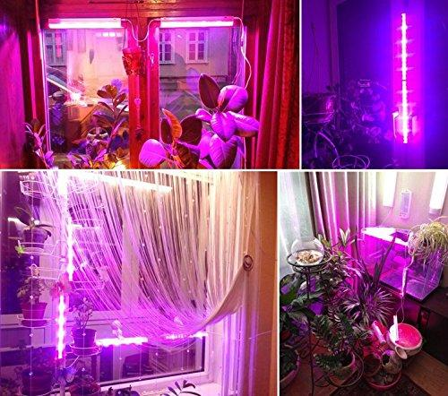 5pcs/lot LED Grow Lights 660nm Red and 455nm Blue LED Lamp for Plants Input Voltage 85-265V