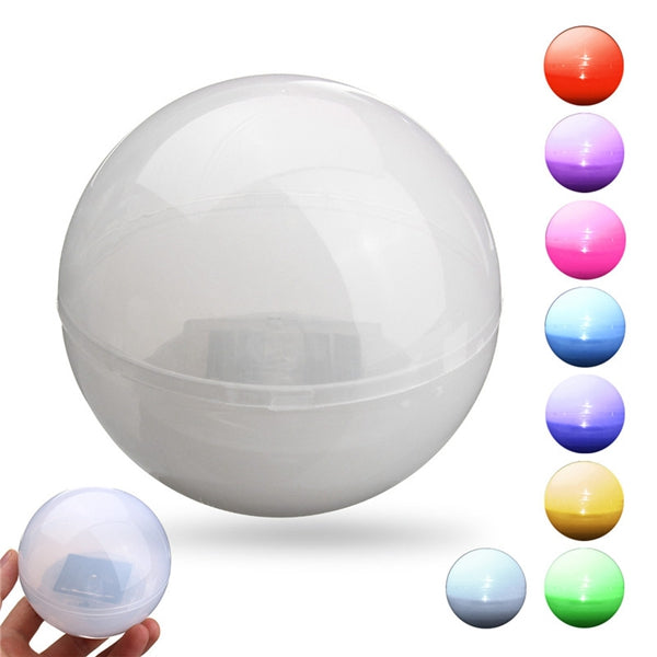 Solar Powered Colorful LED Floating Ball Light Pond Pool Outdoor Path Landscape Lamp