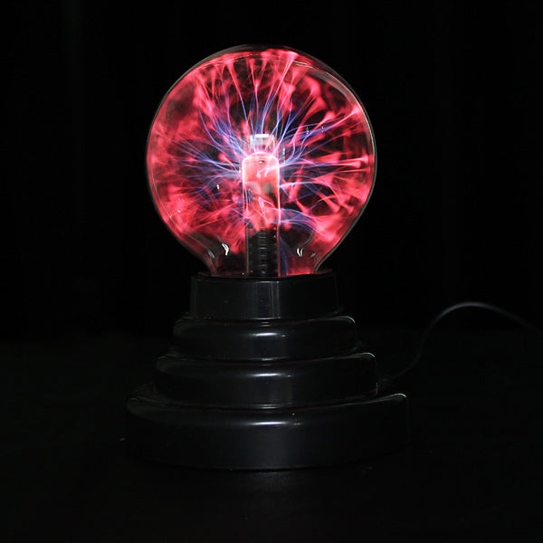 USB Plasma Ball Sphere Lightning Light Magic Crystal Lamp Globe Laptop Decor Novelties Toys