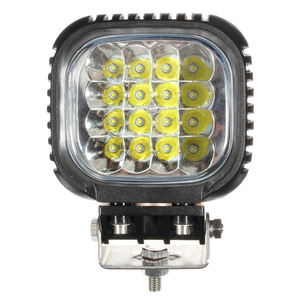 48W 16LED Spot Work Lamp Light Pencil Beam Off Road Boat Truck