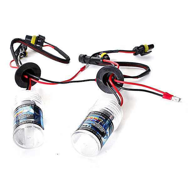 A pair H3 35W/55W Xenon HID Replacement Bulbs Lamps