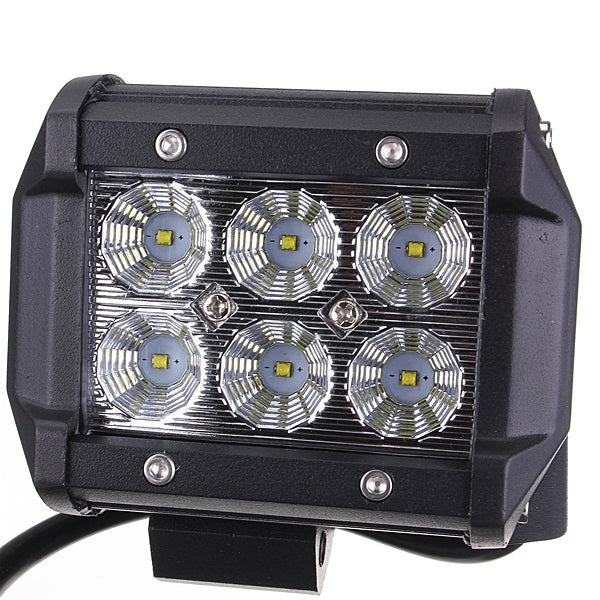 18W Car 6LED Flood Light Spot Lamp Work Light Bright White