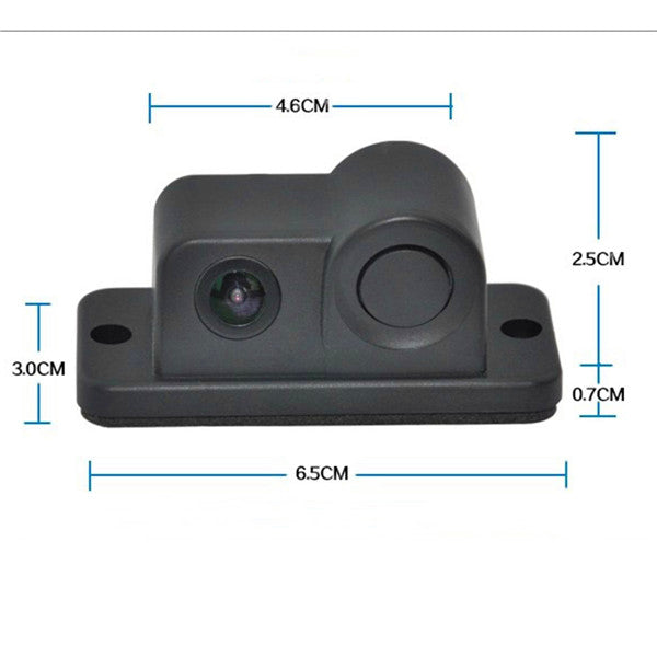 Parking Sensor Buzzer 170 Degree Night Vision Car Rear View Reversing Backup Camera
