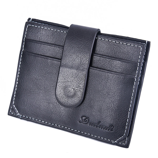 Men Light Coin Bag Photo Holder Card Slot Fashion Mini Wallet