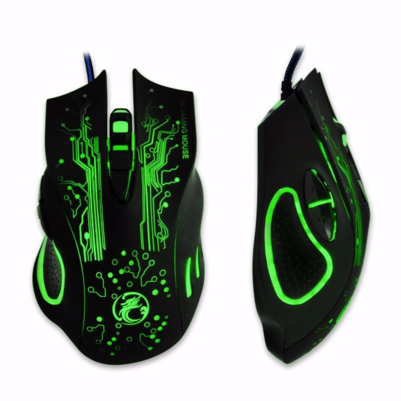 Estone X9a 2400DPI Wired Gaming Mouse With 16-million-color Smart Breathing Light